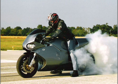 SUPERBIKE BURNOUT