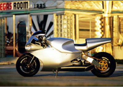 SILVER BIKE - VEGAS
