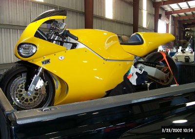 YELLOW BIKE READY FOR DEILIVERY