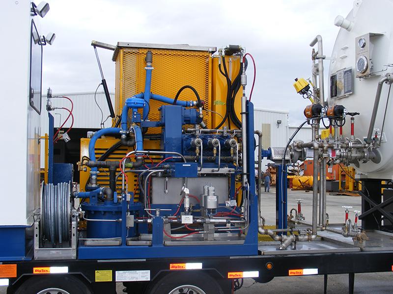 nitrogen pumper