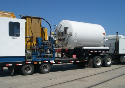 NITROGEN PUMPER UNIT