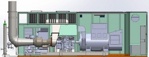 MTT 1 MW Distributed Turbine Power Generation Package – MTT 1 MW Cutaway - www.marineturbine.com