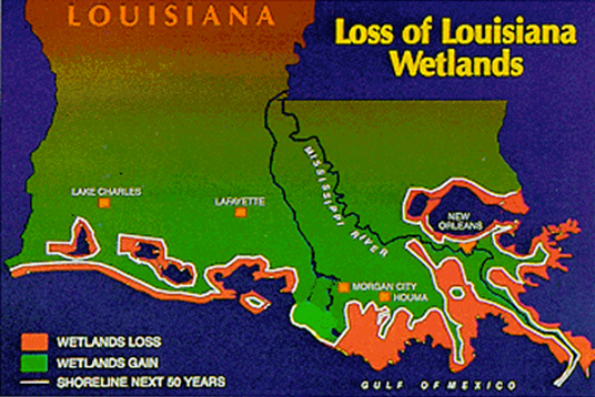 Current Map Of Louisiana.Mtt Develops Turbine Technology To Save Louisiana S Eroding Coast